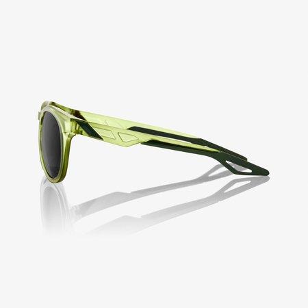 100% 100%  CAMPO Matte Translucent Olive Slate - Black Mirror Lens