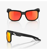 100% 100%  CENTRIC Soft Tact Crystal Black - HiPER® Red Multilayer Mirror Lens