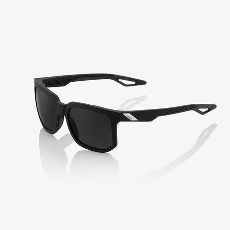 100% 100%  CENTRIC Matte Black - Smoke Lens