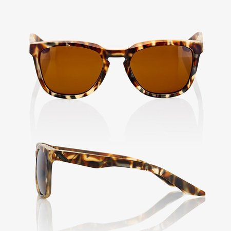100% 100%  HUDSON Soft Tact Havana - Bronze Lens