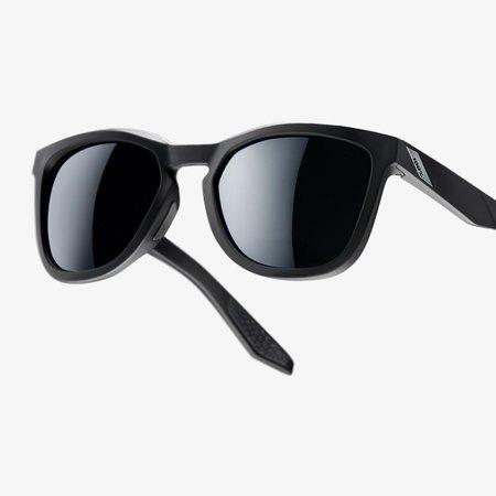 100% 100%  HUDSON Soft Tact Black - Smoke Lens