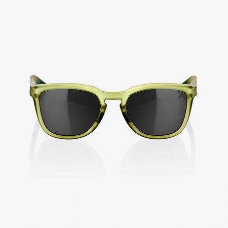 100% 100%  HUDSON Matte Translucent Olive Slate - Black Mirror Lens
