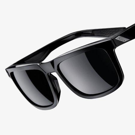 100% 100%  BLAKE Polished Black - Grey PEAKPOLAR Lens