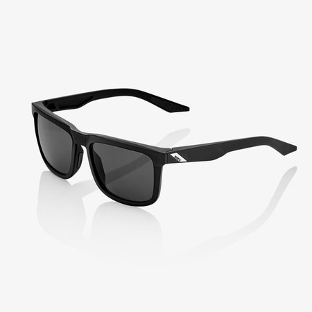100% 100%  BLAKE Soft Tact Black - Smoke Lens