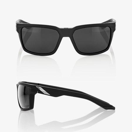 100% 100%  DAZE Soft Tact Black - Smoke Lens