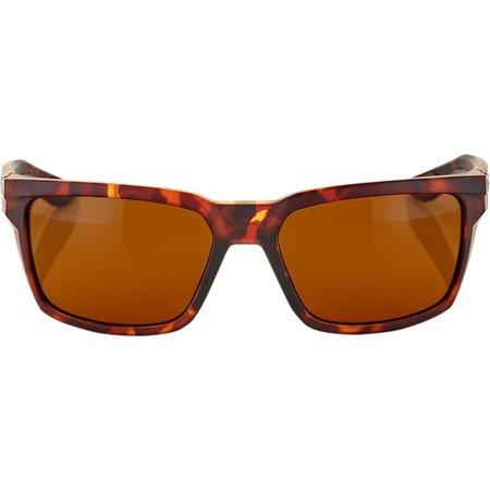 100% 100%  DAZE Soft Tact Dark Havana - Bronze Lens