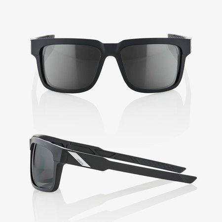 100% 100%  TYPE-S Soft Tact Black - Smoke Lens