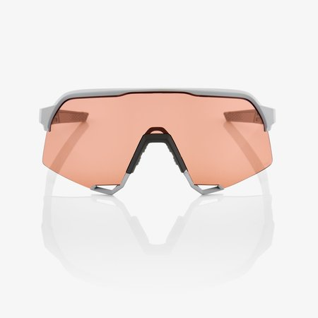 100% 100% S3® Soft Tact Stone Grey HiPER® Coral Lens + Clear Lens Included