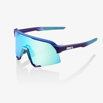 S3® Matte Metallic Into the Fade Blue Topaz Multilayer Mirror Lens (Clear Lens Incl.)
