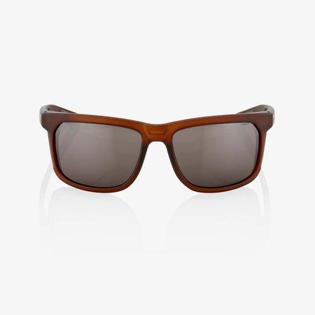 100% 100%  HAKAN Soft Tact Rootbeer - HiPER® Silver Mirror Lens