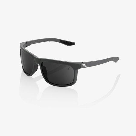 100% 100%  HAKAN Soft Tact Cool Grey - Smoke Lens