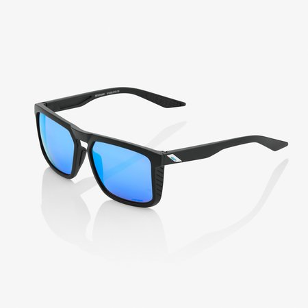 100% 100%  RENSHAW Matte Black - HiPER® Blue Multilayer Mirror Lens
