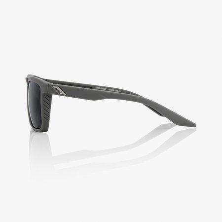 100% 100%  RENSHAW Soft Tact Cool Grey - Black Mirror Lens