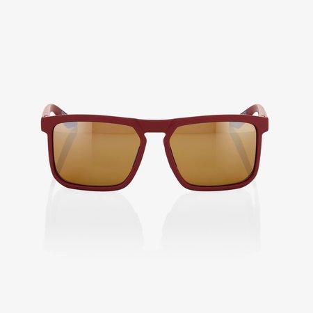 100% 100%  RENSHAW Soft Tact Crimson - Bronze Lens