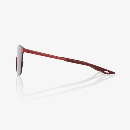 100% 100%  LEGERE SQUARE Soft Tact Crimson - HiPER® Silver Mirror Lens