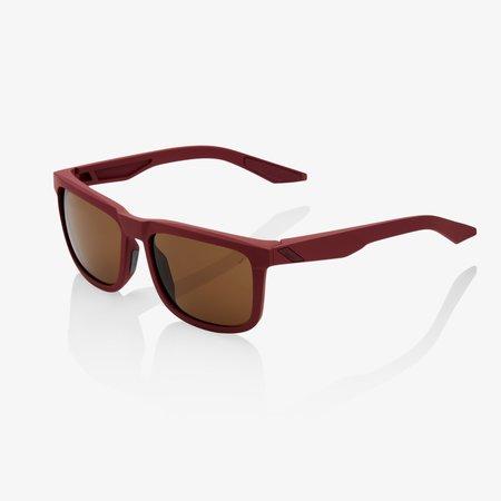 100% 100% BLAKE Soft Tact Crimson - Bronze Lens