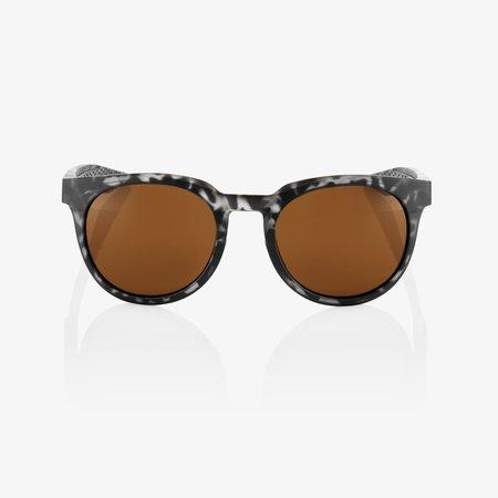 100% 100% CAMPO Matte Black Havana - Bronze Lens