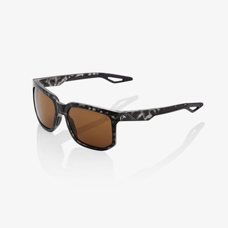 100% 100% CENTRIC Matte Black Havana - Bronze Lens
