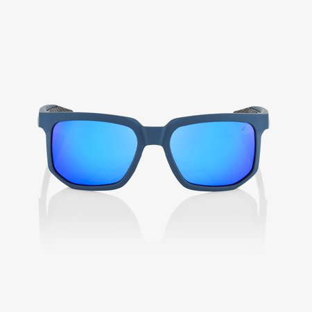 100% 100% CENTRIC Soft Tact Blue - Blue Multilayer Mirror Lens