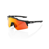 SPEEDCRAFT XS - Soft Tact Black - HiPER Red Multilayer Mirror Lens (Incl. Clear Lens)