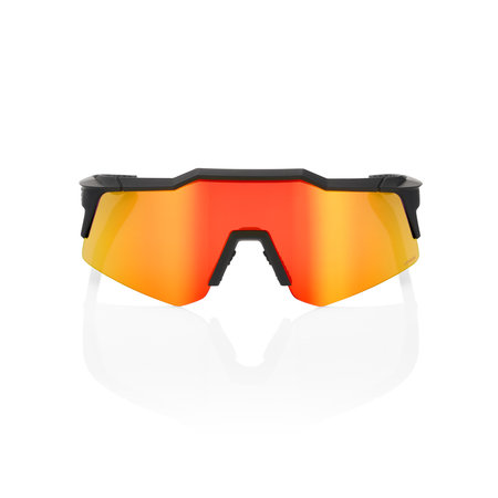 100% 100% SPEEDCRAFT® XS Soft Tact Black HiPER® Red Multilayer Mirror Lens + Clear Lens Included