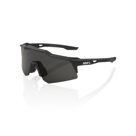 100% 100% SPEEDCRAFT® XS Soft Tact Black Smoke Lens + Clear Lens Included