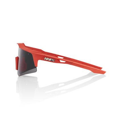 100% 100% SPEEDCRAFT® XS Soft Tact Coral Smoke Lens + Clear Lens Included