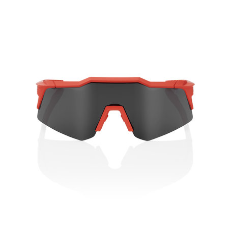 100% 100% SPEEDCRAFT XS - Soft Tact Coral - Smoke Lens (Incl. Clear Lens)