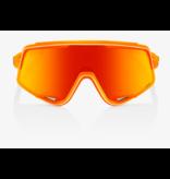 100% 100% GLENDALE® Neon Orange HiPER® Red Multilayer Mirror Lens