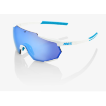 RACETRAP® SE Movistar Team White HiPER® Blue Multilayer Mirror Lens + Clear Lens Included