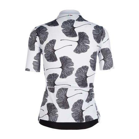Q36.5 Q36.5 Women Jersey Short Sleeves G1 Ginkgo White
