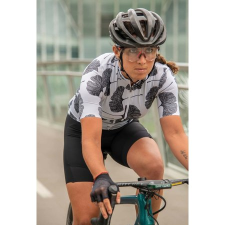 Q36.5 Q36.5 Women Jersey Short Sleeves G1 Ginkgo