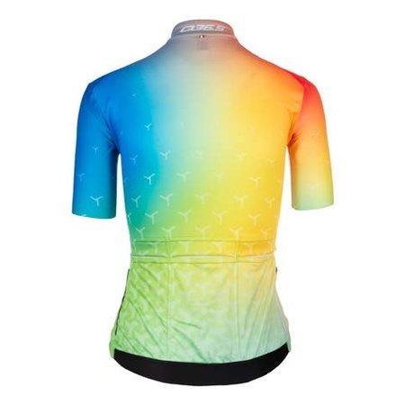 Q36.5 Q36.5 Dames Fietsshirt Korte Mouwen G1 Good Vibes Multicolor