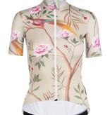 Q36.5 Q36.5 Women Jersey Short Sleeves G1 Japanese Garden Beige