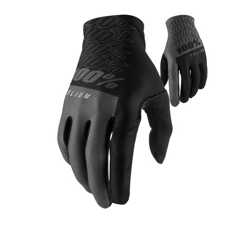 100% 100% Cycling gloves MTB Celium Black
