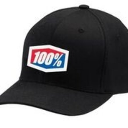 100% 100% Cap OFFICIAL X-Fit FlexFit Black
