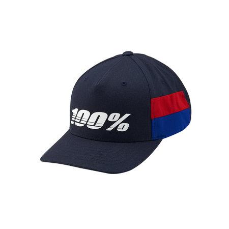 100% 100% Youth Cap LOYAL Snapback Navy
