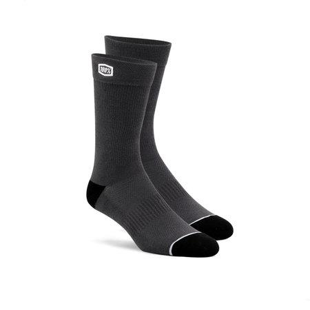 100% 100% Socks Casual Solid