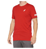 100% 100% T-Shirt Tiller Rood