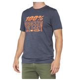 100% 100% T-Shirt Trademark Grijs