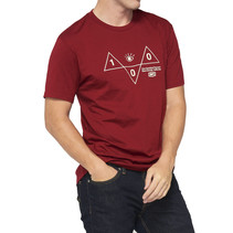 T-Shirt Vision Rood
