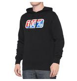 100% 100% Hoodie Sweater Classic Zwart