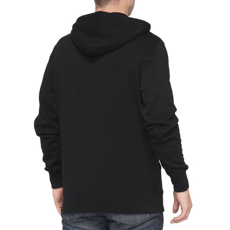 100% 100% Hoodie Sweater Classic Black