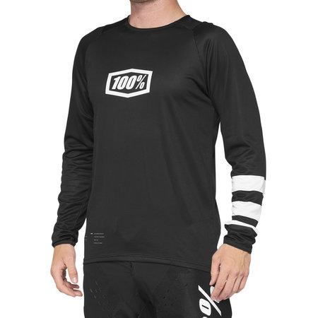100% 100% MTB Fietsshirt R-Core Zwart