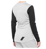 100% 100% Dames MTB Shirt Lange Mouwen Ridecamp Wit