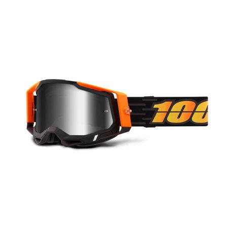 100% 100% Crossbril MTB Racecraft 2 met Mirror Lens