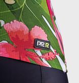 ALE Ale Dames Fietsshirt Korte Mouwen PRR Tiger Roze-Groen
