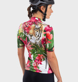 ALE Ale Women Jersey Short Sleeves PRR Tiger Pink-Green