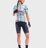 ALE Ale Women Jersey Short Sleeves PRR Skull Light Blue