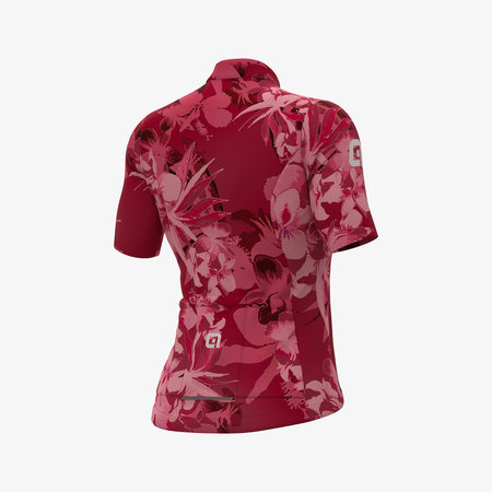 ALE Ale Dames Fietsshirt Korte Mouwen Solid Bouquet